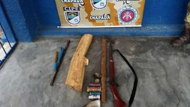 Photo of Chapada: Jovem é preso durante ação que desarticulou uma fábrica caseira de armas em Nova Redenção