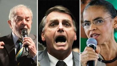 Photo of Datafolha aponta que Lula, mesmo preso, lidera corrida presidencial; Bolsonaro e Marina crescem