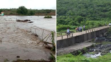 Photo of #Bahia: Chuvas no Rio Jacuípe enchem Barragem Jaguara em Feira de Santana; fotos e vídeos