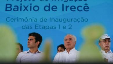 Photo of #Bahia: Temer diz que apoiará queda do veto ao Refis durante inauguração do Baixio de Irecê