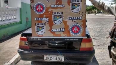 Photo of Chapada: Policiais da Cipe prendem homem com veículo roubado em Boa Vista do Tupim