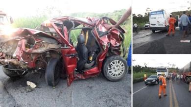 Photo of Chapada: Casal morre em acidente grave na BR-242 próximo ao distrito do Zuca