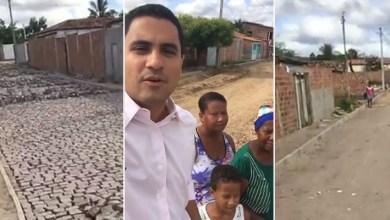 Photo of Chapada: Rua e Travessa Carlos Prestes recebem calçamento em bairro do município de Itaberaba