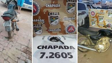 Photo of Chapada: Homem é preso com moto roubada e revólver durante operação da Cipe em Piatã