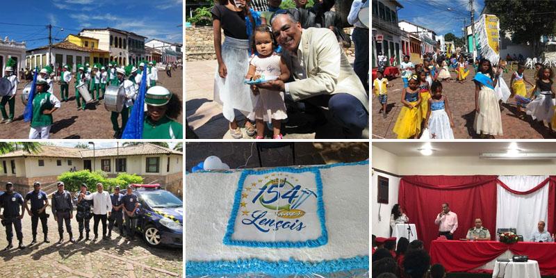 Chapada: Lençóis completa 154 anos com show, atividades culturais e entrega de equipamento