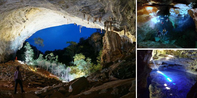 Chapada: Formações geológicas entre Seabra, Palmeiras e Iraquara são pontos de visitação de turistas