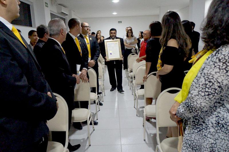 Chapada: Lions Clube de Itaberaba empossa nova diretoria e mais três sócios durante assembleia