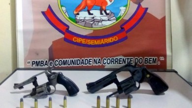 Photo of Chapada: Criminoso e duas armas de fogo são retirados das ruas no município de Mundo Novo