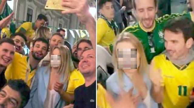 Resultado de imagem para brasileiros constrange russa