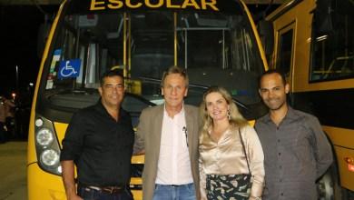 Photo of Chapada: Dom Basílio recebe ônibus de transporte escolar para alunos da zona rural