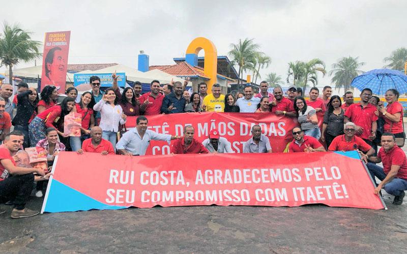 Chapada: Prefeito de Itaetê leva caravana para PGP do governador Rui Costa em Itaberaba