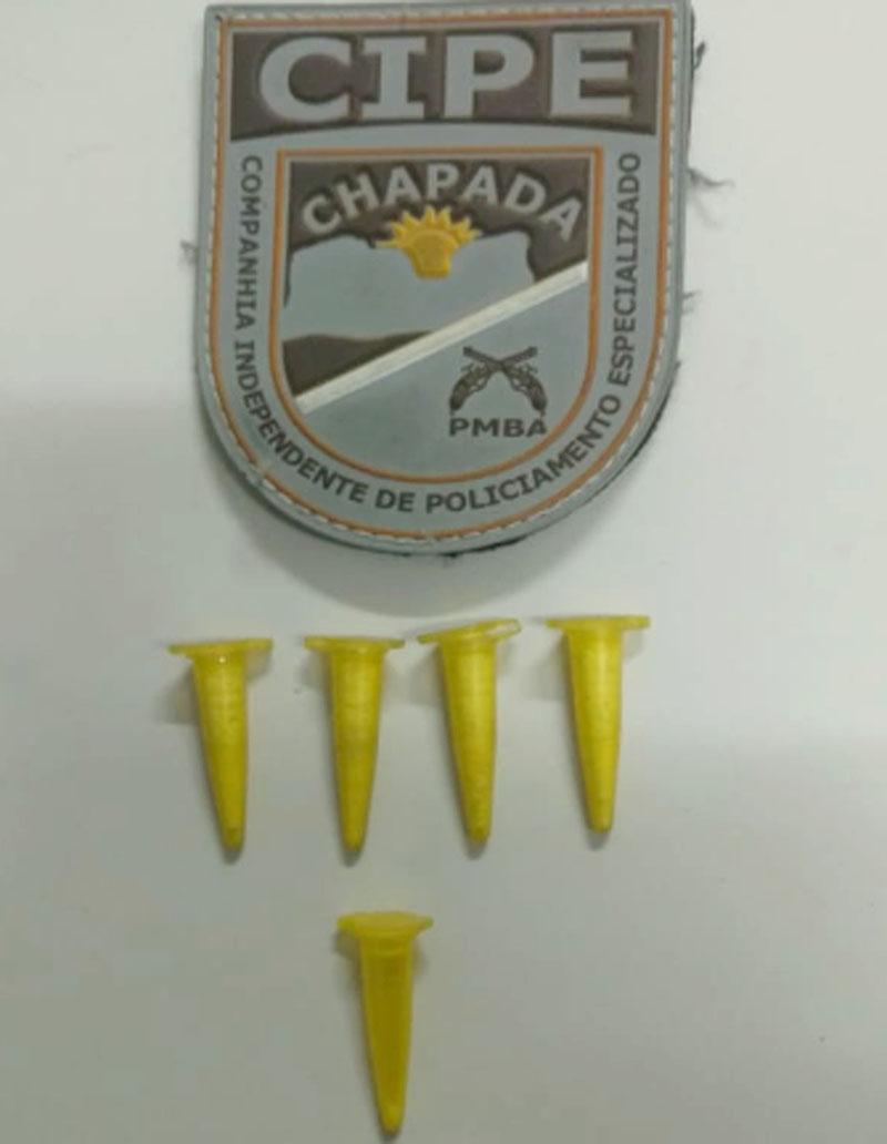 Chapada: Policiais da Cipe detêm trio com cocaína no município de Souto Soares