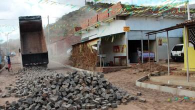 Photo of Chapada: Prefeitura de Itaberaba realiza obras de calçamento em mais um bairro da cidade