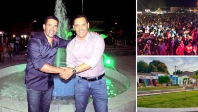 Photo of Chapada: Prefeito de Itaetê entrega nova praça em distrito e reúne multidão em final de semana de festa