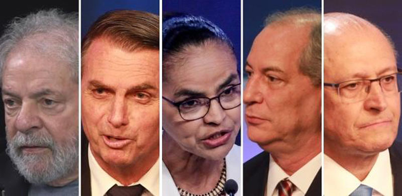 #Eleições2018: Pesquisa CNT/MDA aponta que Lula subiu para 37,3%; Bolsonaro continua em segundo com 18,8%