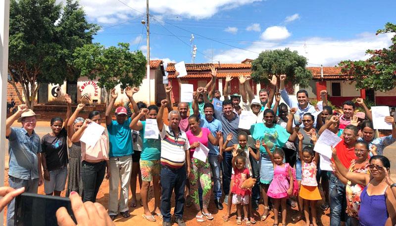 Chapada: Prefeito de Itaberaba Ricardo Mascarenhas surpreende povoado após 18 anos de espera