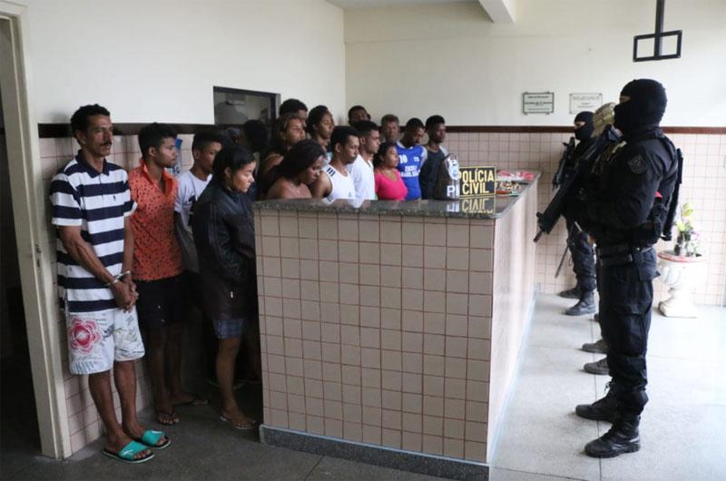 Chapada: Megaoperação em Itaberaba e região captura 21 criminosos com mandados de prisões; confira fotos