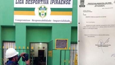 Photo of #Bahia: Prefeito de Ipirá suspende pagamento da conta de luz de Liga Desportiva