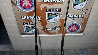 Photo of Chapada: Duas armas de fogo são apreendidas por policiais na zona rural de Andaraí