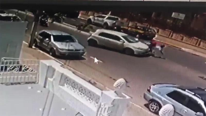 Chapada: Acidente de trânsito é registrado por câmeras em avenida de Itaberaba; veja vídeo