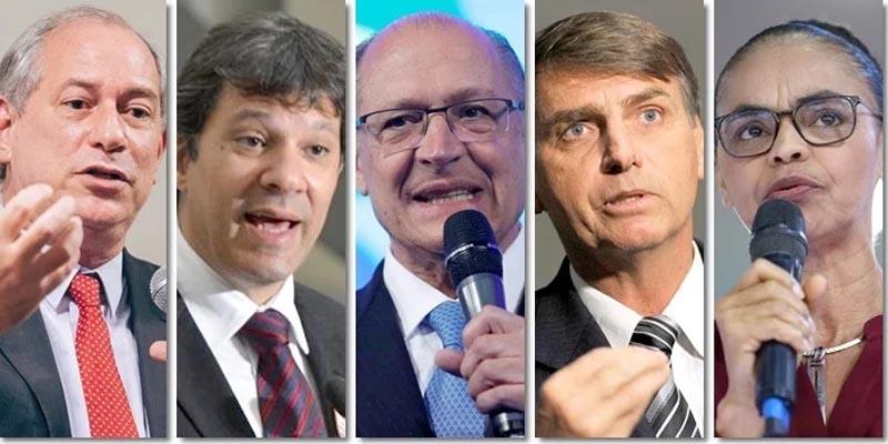 #Eleições2018: Bolsonaro perde para Haddad, Ciro e Alckmin no segundo turno, aponta Ibope
