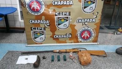 Photo of Chapada: Arma de fogo e munições são apreendidas na zona rural de Ruy Barbosa pela Cipe
