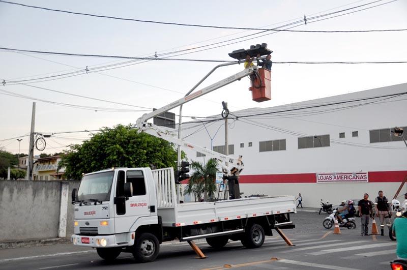 Chapada: Vias públicas em Itaberaba passam por instalação de sinalização de trânsito
