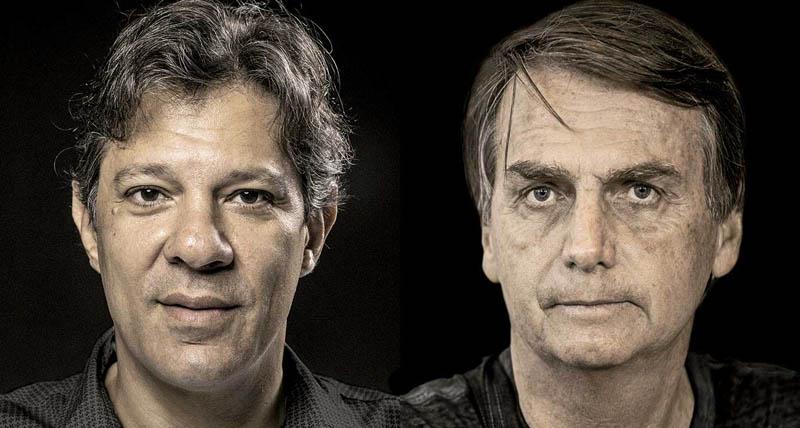 Vox Populi aponta que Haddad cresce e chega a 46% dos votos válidos; Bolsonaro tem 54%