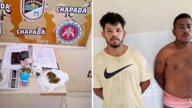 Photo of #Bahia: Dois traficantes são presos por policiais da Cipe-Chapada em Milagres