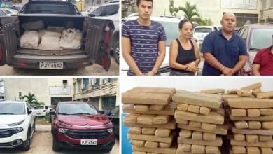 Photo of #Bahia: Polícia apreende 300 quilos de maconha em Feira de Santana; quatro pessoas são presas