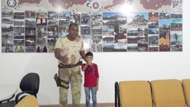 Photo of Chapada: Garoto realiza sonho e conhece a sede e policiais da Cipe em Ruy Barbosa; veja fotos