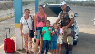 Photo of #Bahia: Sargento do Batalhão de Polícia Rodoviária ajuda família a retornar para casa