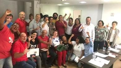 """Photo of """"Vamos ampliar as intervenções do campo Optei dentro do PT"""", diz Valmir em Brasília"""