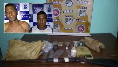 Photo of Chapada: Operação policial em Mucugê prende foragido da Justiça; drogas e arma de fogo são apreendidas