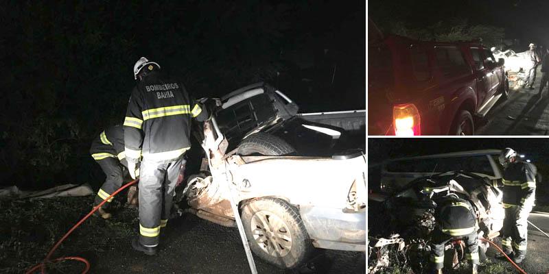 Chapada: Acidente na região de Oliveira dos Brejinhos deixa um morto e três feridos