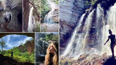 Photo of #Fotos: Postagens da atriz Grazi Massafera mostram belezas naturais da Chapada Diamantina