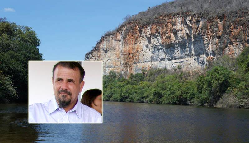 Chapada: Ex-prefeito de Nova Redenção conclama autoridades para realizarem ações em favor do Rio Paraguaçu