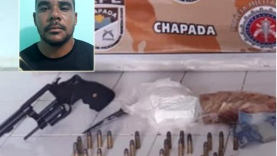Photo of Chapada: Policiais da Cipe prendem traficante e apreendem arma, munições e drogas em Itaetê