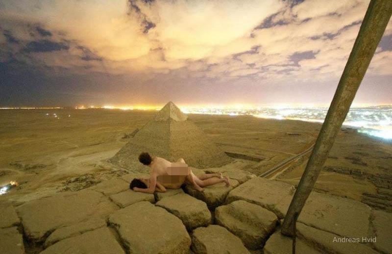 #Mundo: Vídeo de casal fazendo sexo na pirâmide de Gizé, no Egito, provoca escândalo internacional