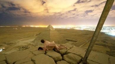 Photo of #Mundo: Vídeo de casal fazendo sexo na pirâmide de Gizé, no Egito, provoca escândalo internacional