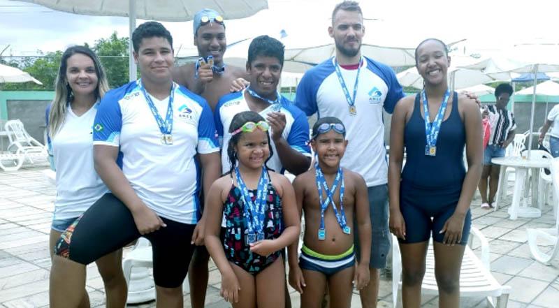Chapada: Atletas da natação de Itaberaba conquistam 24 medalhas no quarto trimestre de 2018