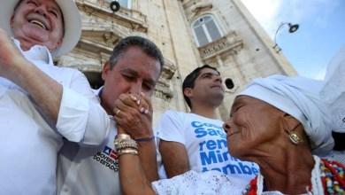 """Photo of """"Espero que o Brasil tenha um ano de paz"""", disse Rui Costa na Lavagem do Bonfim"""