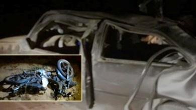 Photo of #Bahia: Três pessoas ficam gravemente feridas em acidente entre carro e moto na região de Ipirá