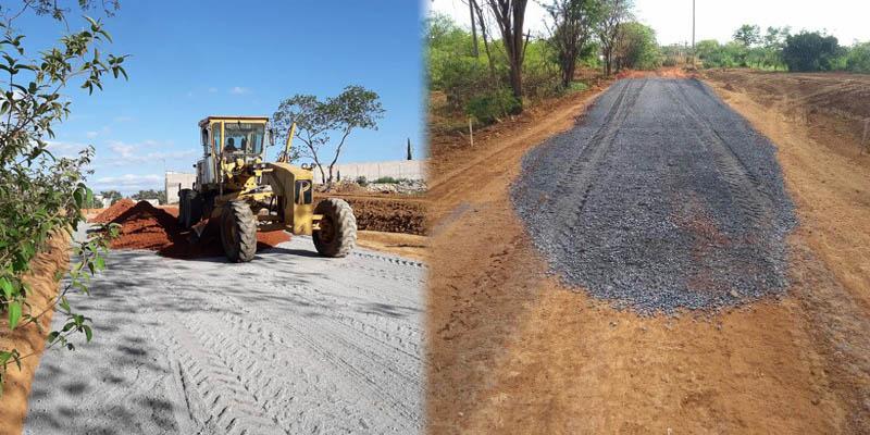 Chapada: Rodovia que liga BR-122 até a BA-488 tem 30% das obras concluídas na região de Iraquara