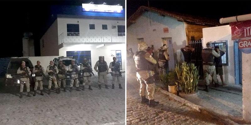 CPR-Chapada intensifica policiamento na região de Milagres; série de ações é desencadeada