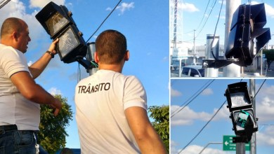 Photo of Chapada: Câmera identifica responsável por danificar semáforo em Itaberaba; equipamento passa por reparos