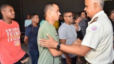 Photo of #Bahia: Tropa regressa do Ceará e é recepcionada pelo Comandante Geral da PM