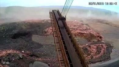 Photo of #Urgente: Vídeo impressionante mostra onda de lama após rompimento de barragem em Brumadinho