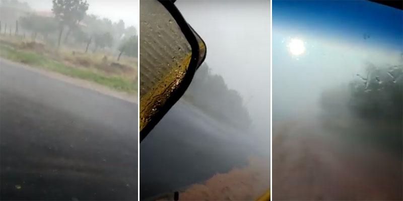 #Bahia: Distrito do município de Livramento de Nossa Senhora registra chuva de granizo; veja vídeo