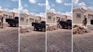 Photo of Chapada: Homem é flagrado jogando lixo na Avenida Getúlio Vargas em Itaberaba; carro pertence a ex-vereador